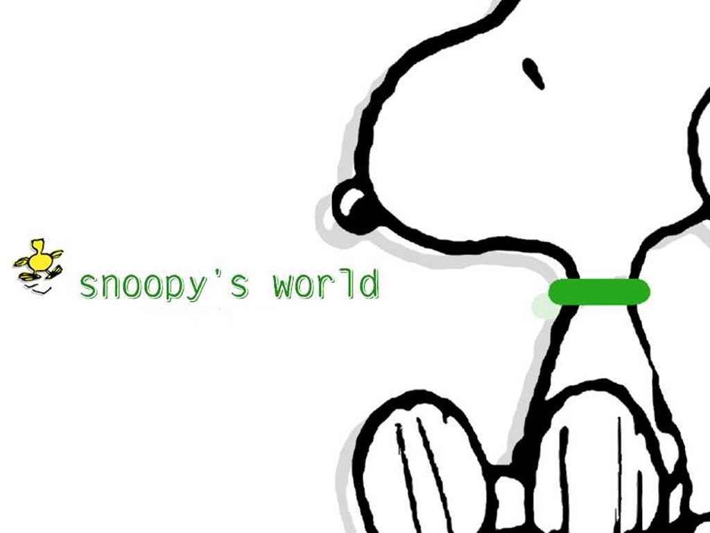 Snoopy Snoopy Wallpaper 1024x768
