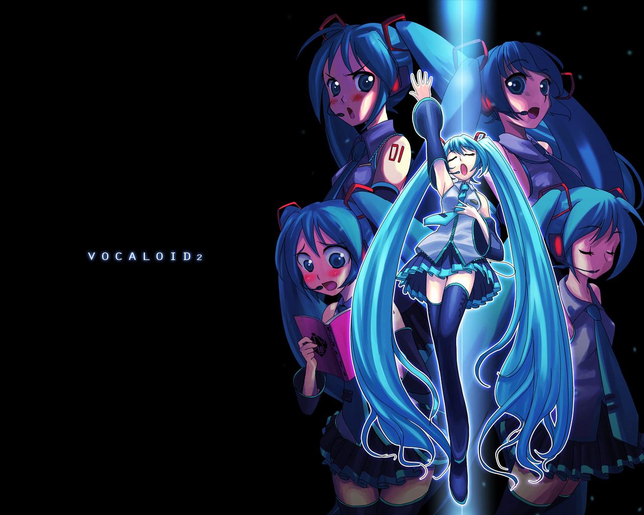Free Download Muryou Anime Wallpaper Vocaloid Hatsune Miku