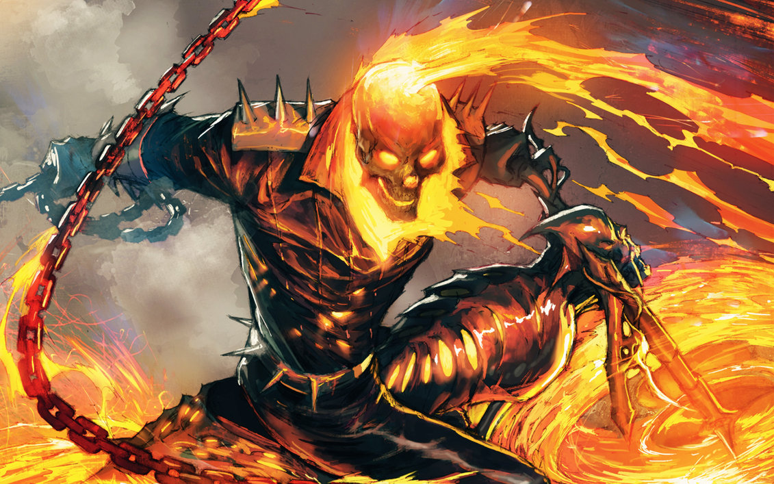 Ghost Rider Wallpaper 2 by Spitfire666xXxXx 1131x707