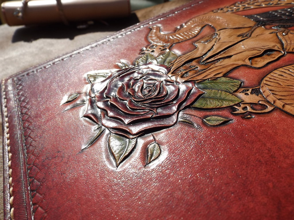 leather tooled book by CreationsMJF 1024x768