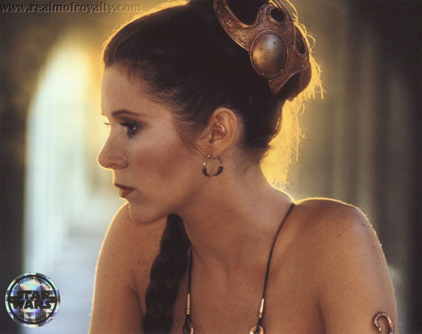 50 Princess Leia Slave Wallpaper On Wallpapersafari