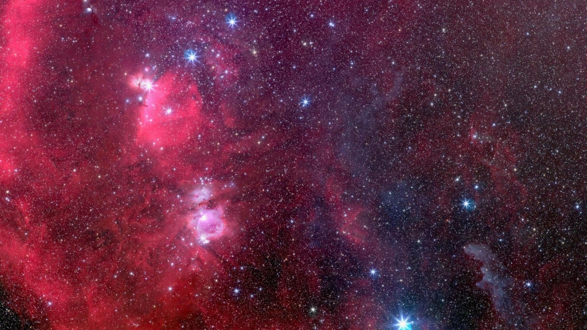 Free Download Space Stars Red Deep Hd Wallpaper 278 Hq Desktop