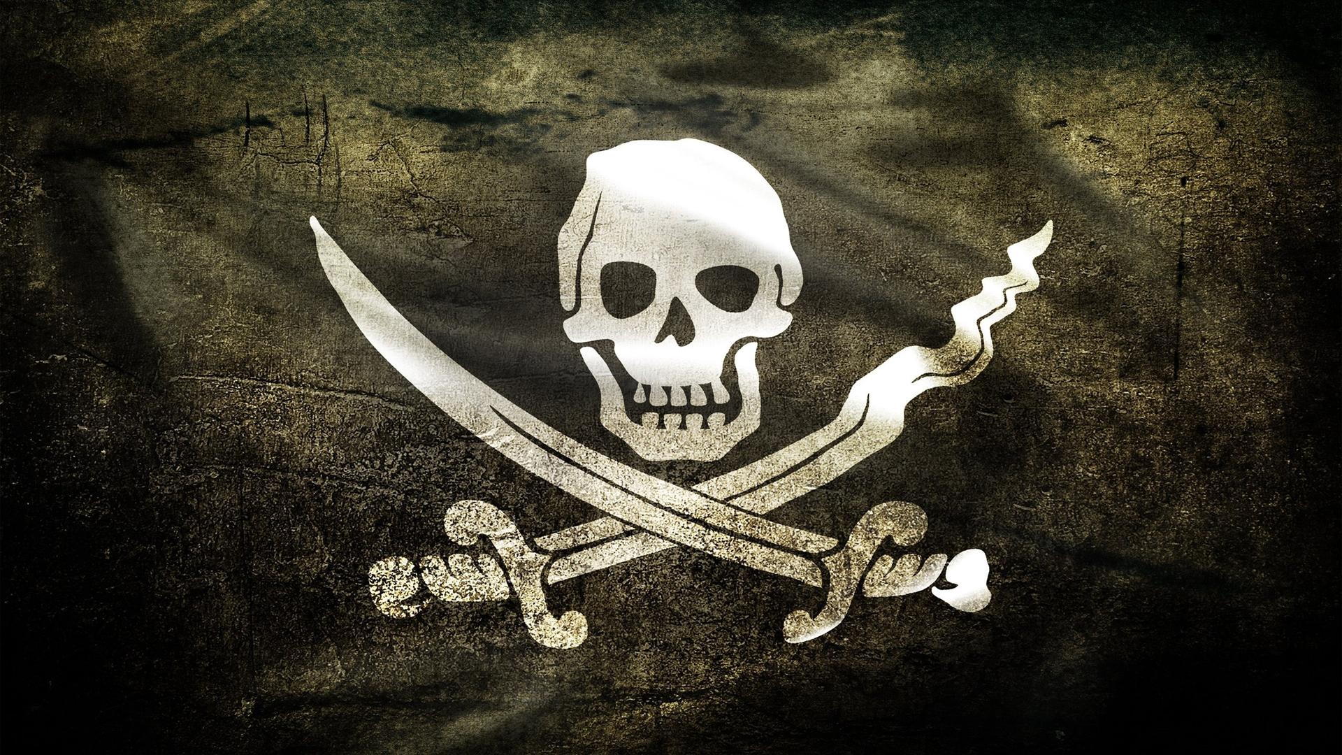 wallpaper skull bones pirate cross desktop 1920x1080 1920x1080