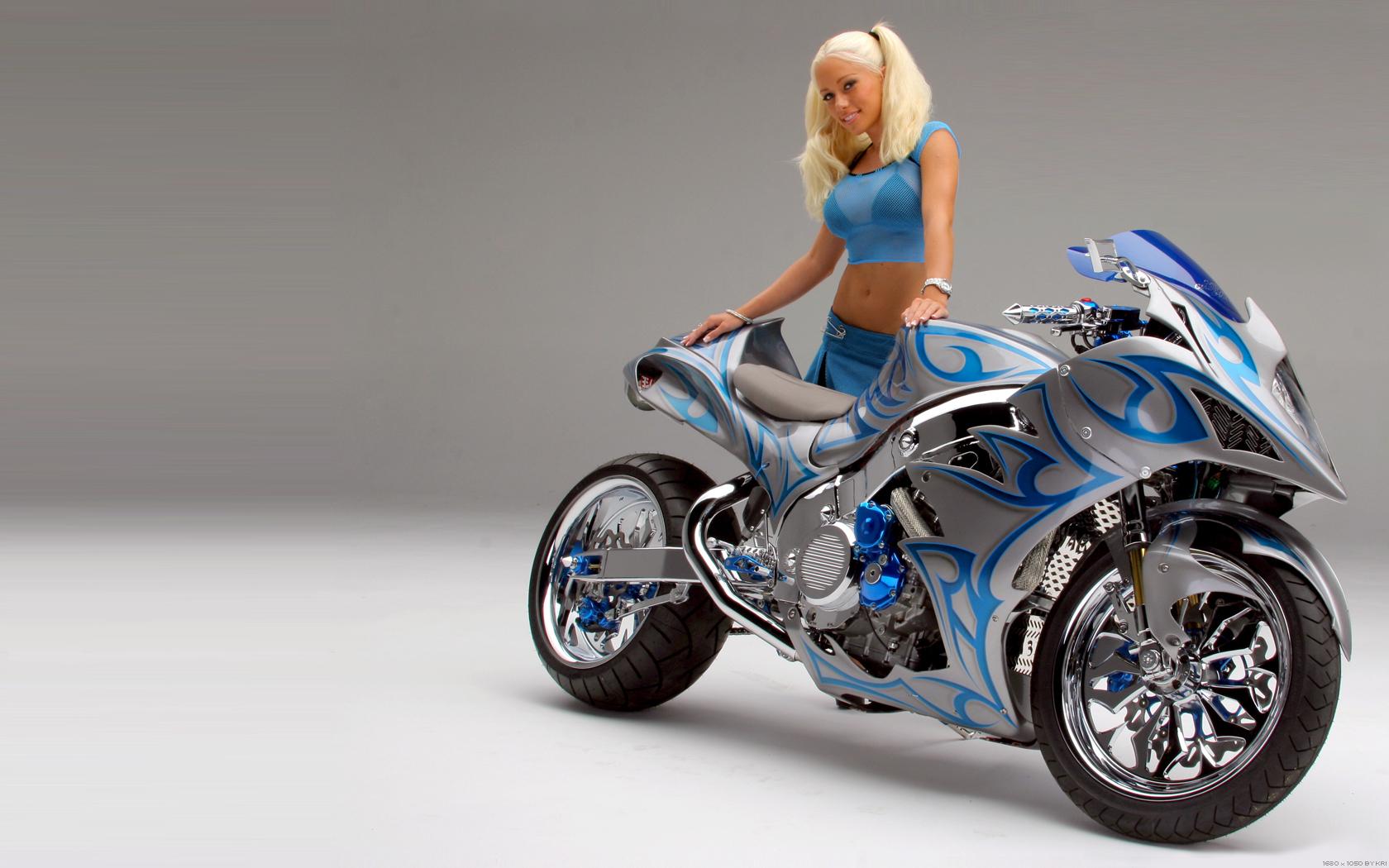 GIRL BIKE   Motorcycles Wallpaper 14635722 1680x1050