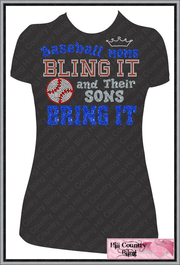 Baseball Gifts Baseball Womens BASEBALL MOM   Womens T Shirt 577x848