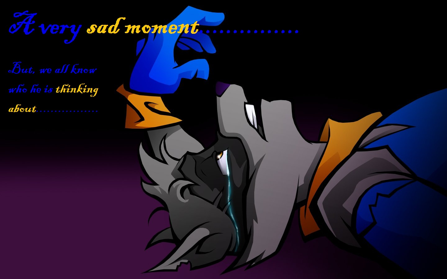 Poor Sly   Sly Cooper Fan Art 32809588 1440x900