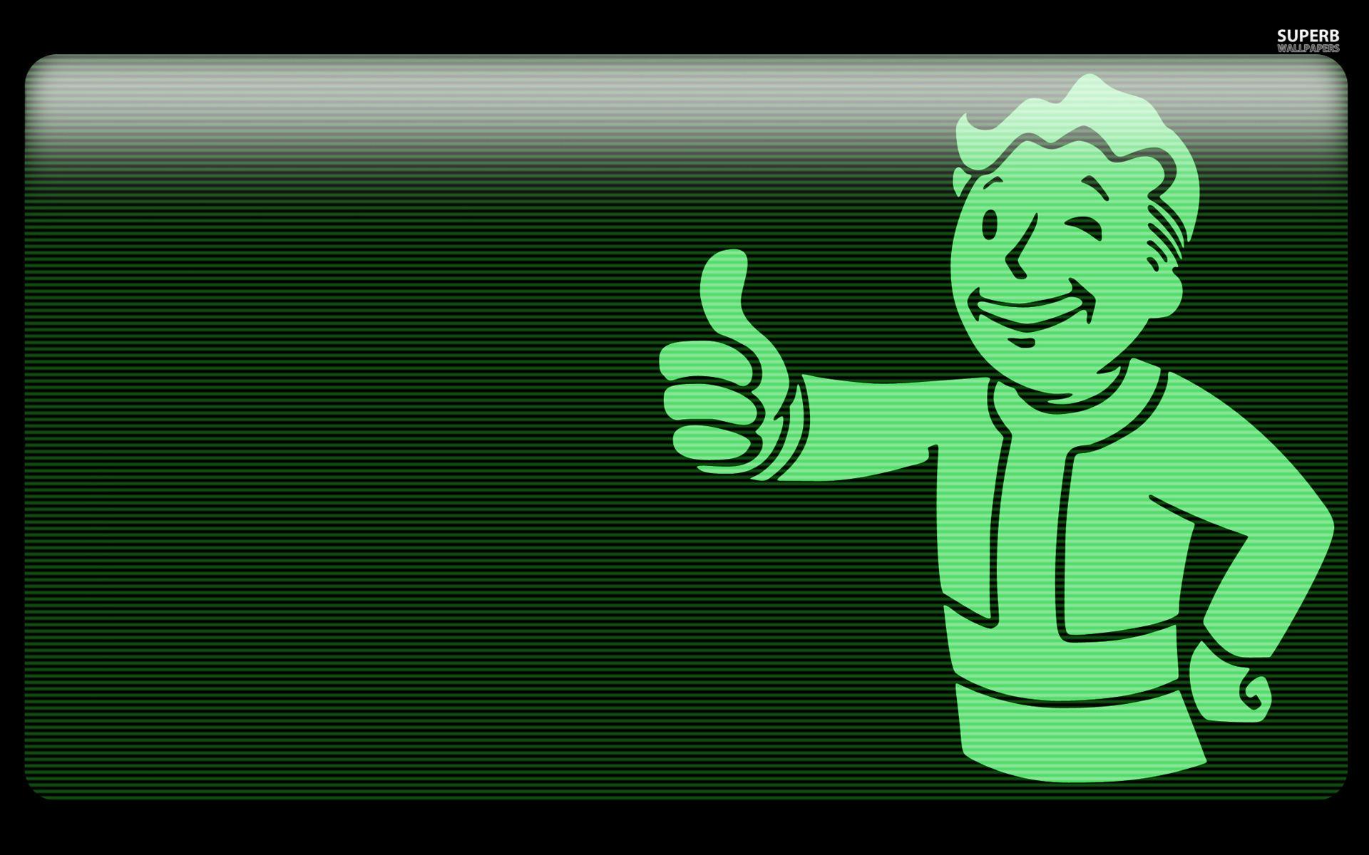 vault boy fallout hd Wallpaper   HD Background 1920x1200