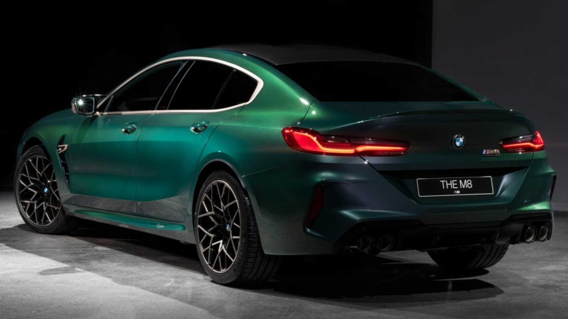 BMW M8 Gran Coupe First Edition 8 Of 8 Is An Ultra Rare M Sedan 1920x1080