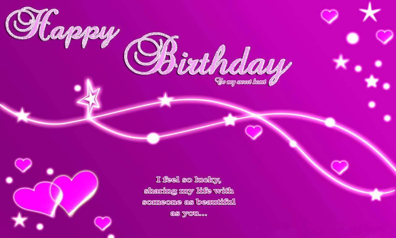 Happy Birthday Greeting Card HD Wallpaperjpg 1280x768