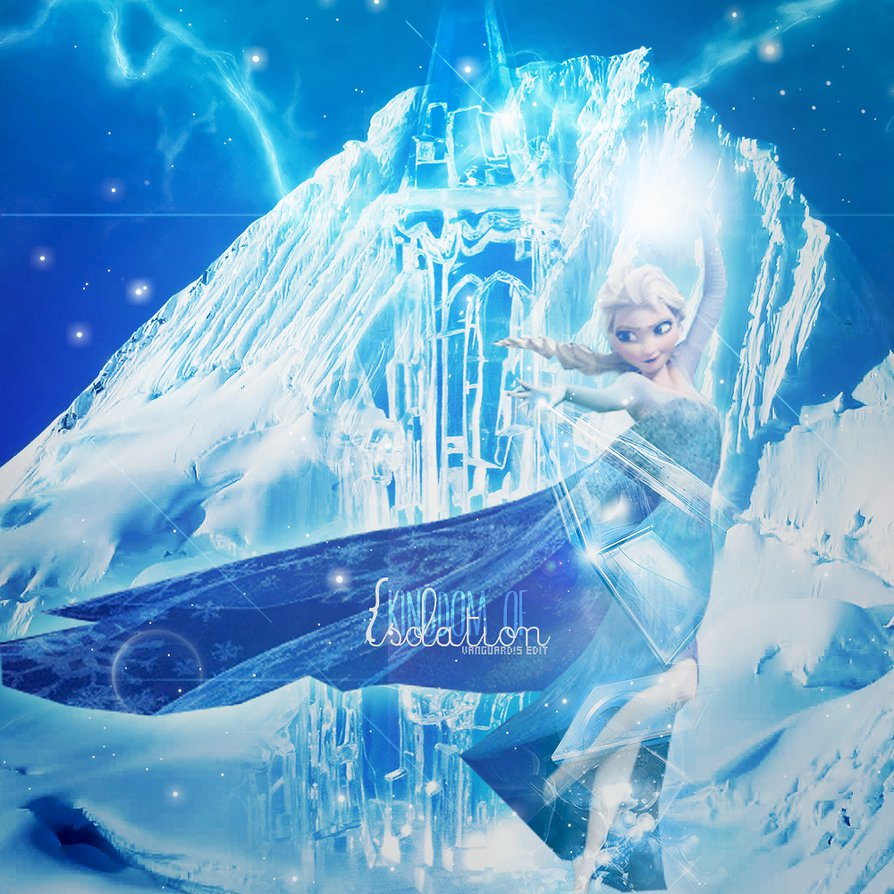 Elsa The Snow QueenFrozen Themed Wallpaper by AliceTribe on 894x894