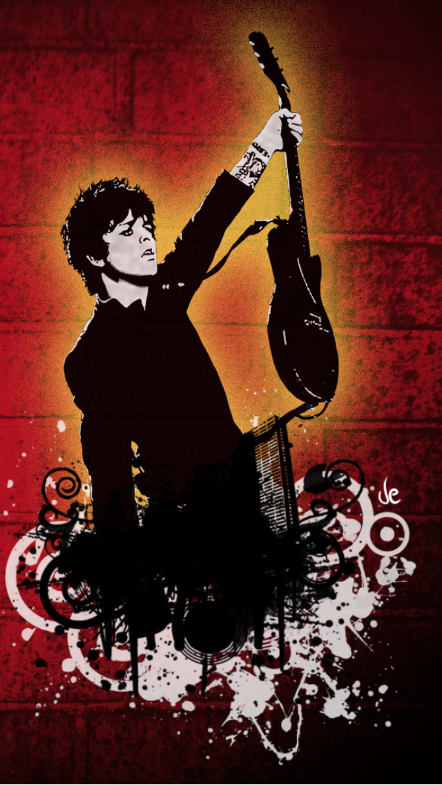 Green Day Billie Joe 640x1136