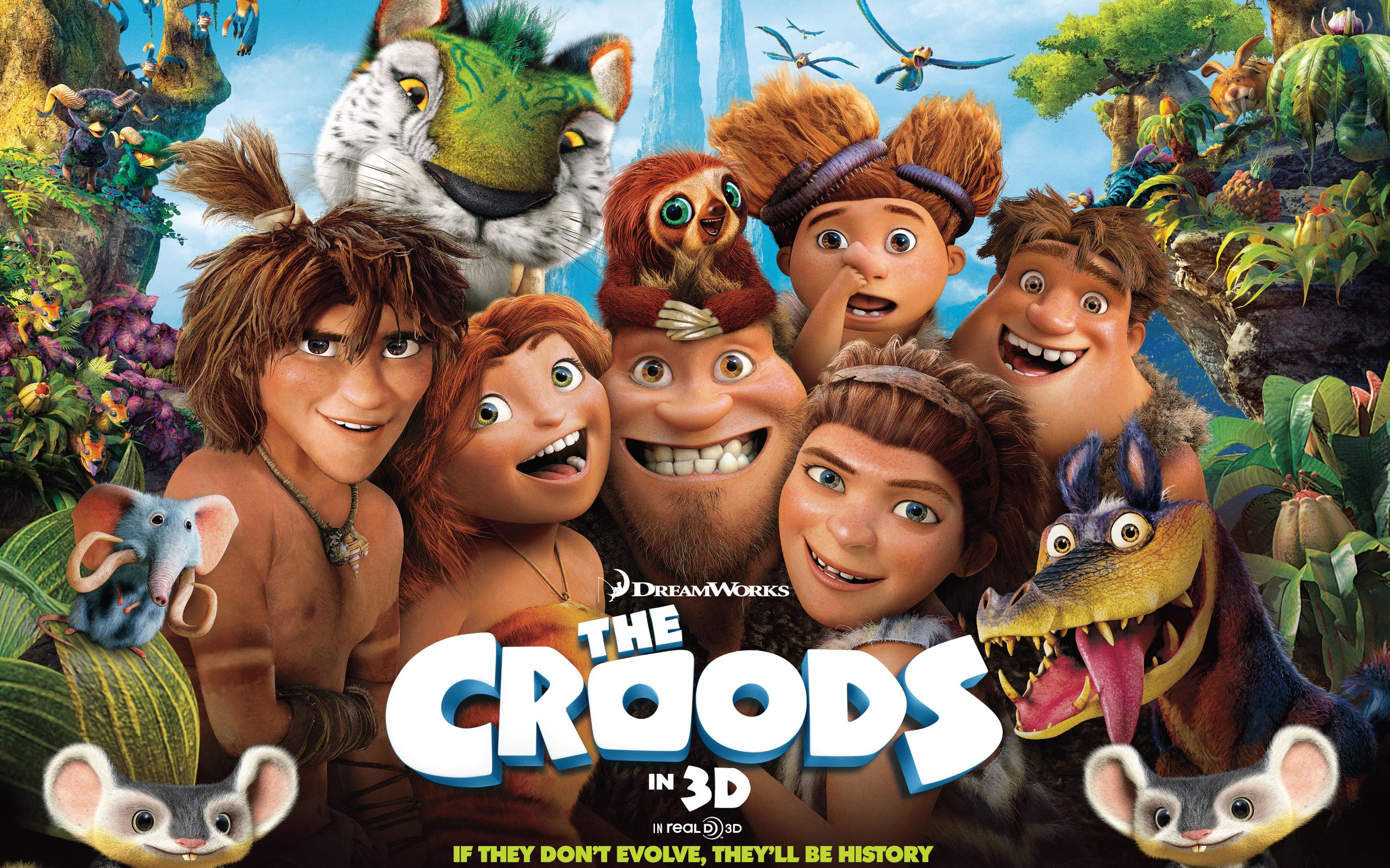 The Croods Movie Wallpapers HD Wallpapers 2880x1800