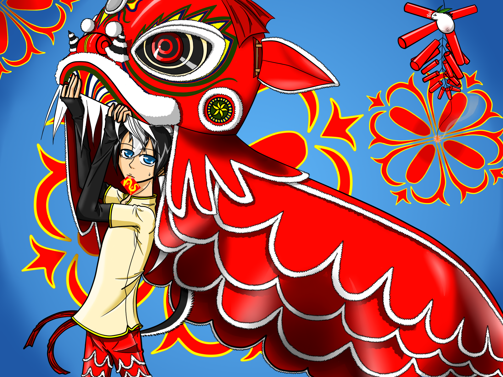 Happy Chinese New Year   Wallpaper High Definition High Quality 1600x1200