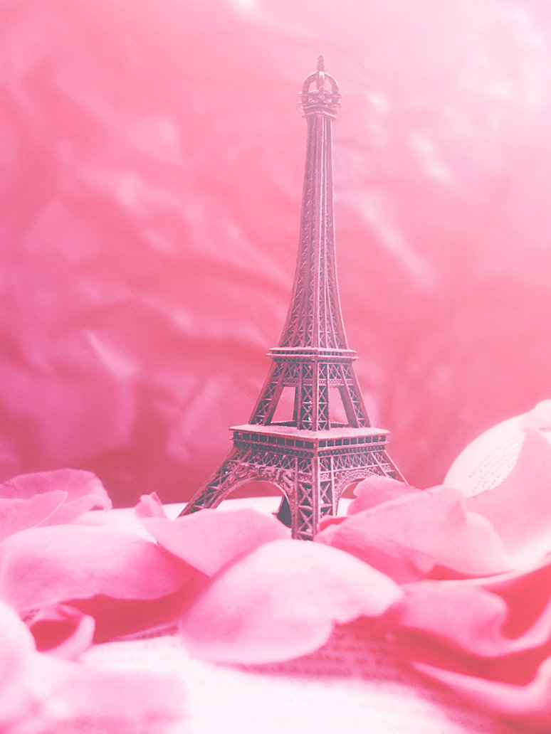 46 ] Paris In Pink Wallpaper On WallpaperSafari