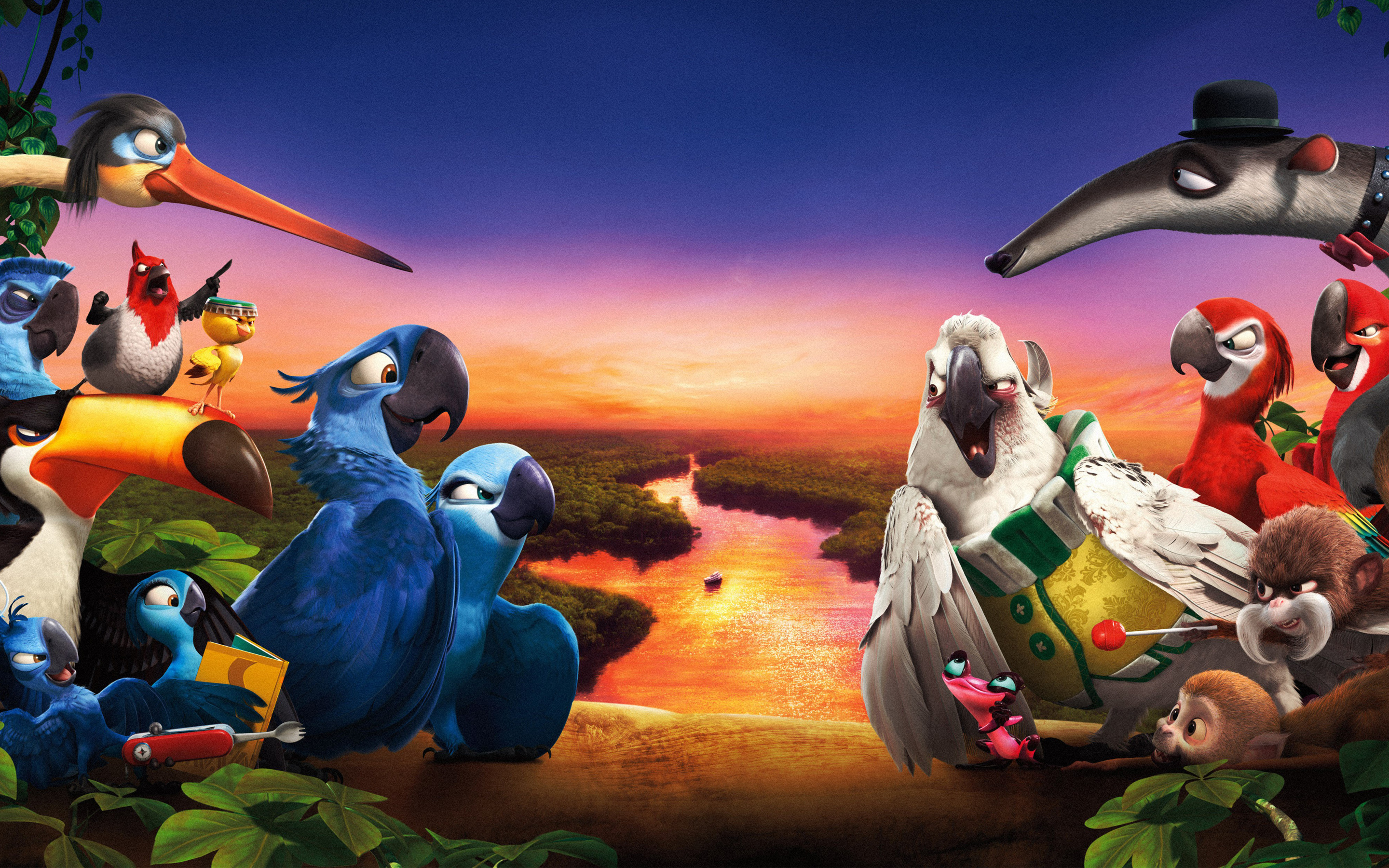 Rio 2 Movie 2014 Wallpapers HD Wallpapers 2880x1800
