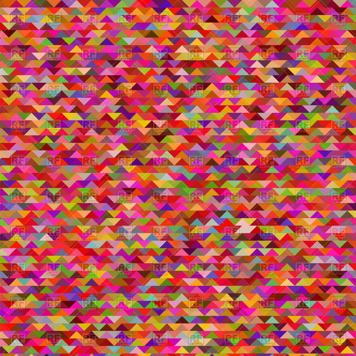 Abstract motley background with triangles Vector Image of 1200x1200