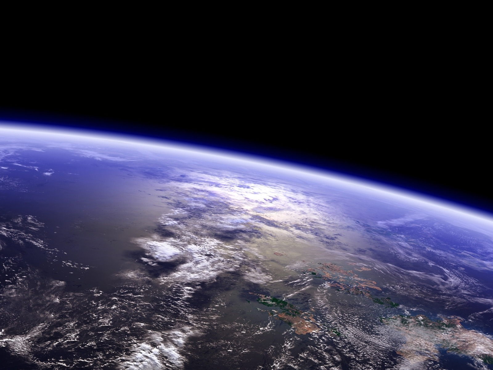 High Quality Beutiful Earth Look From Space Nature Wallpaper 1600x1200 1600x1200