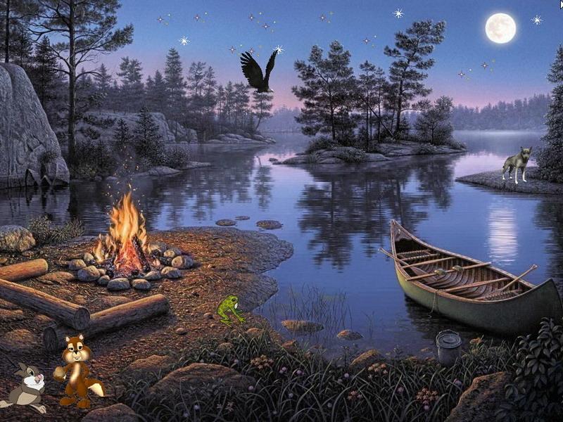 Fairy Screensaver   Fairy Lake   FullScreensaverscom 800x600