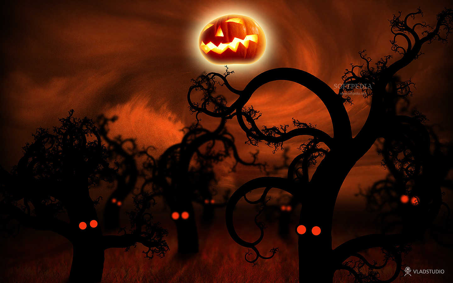 Vladstudio Halloween Wallpaper Set 1440x900