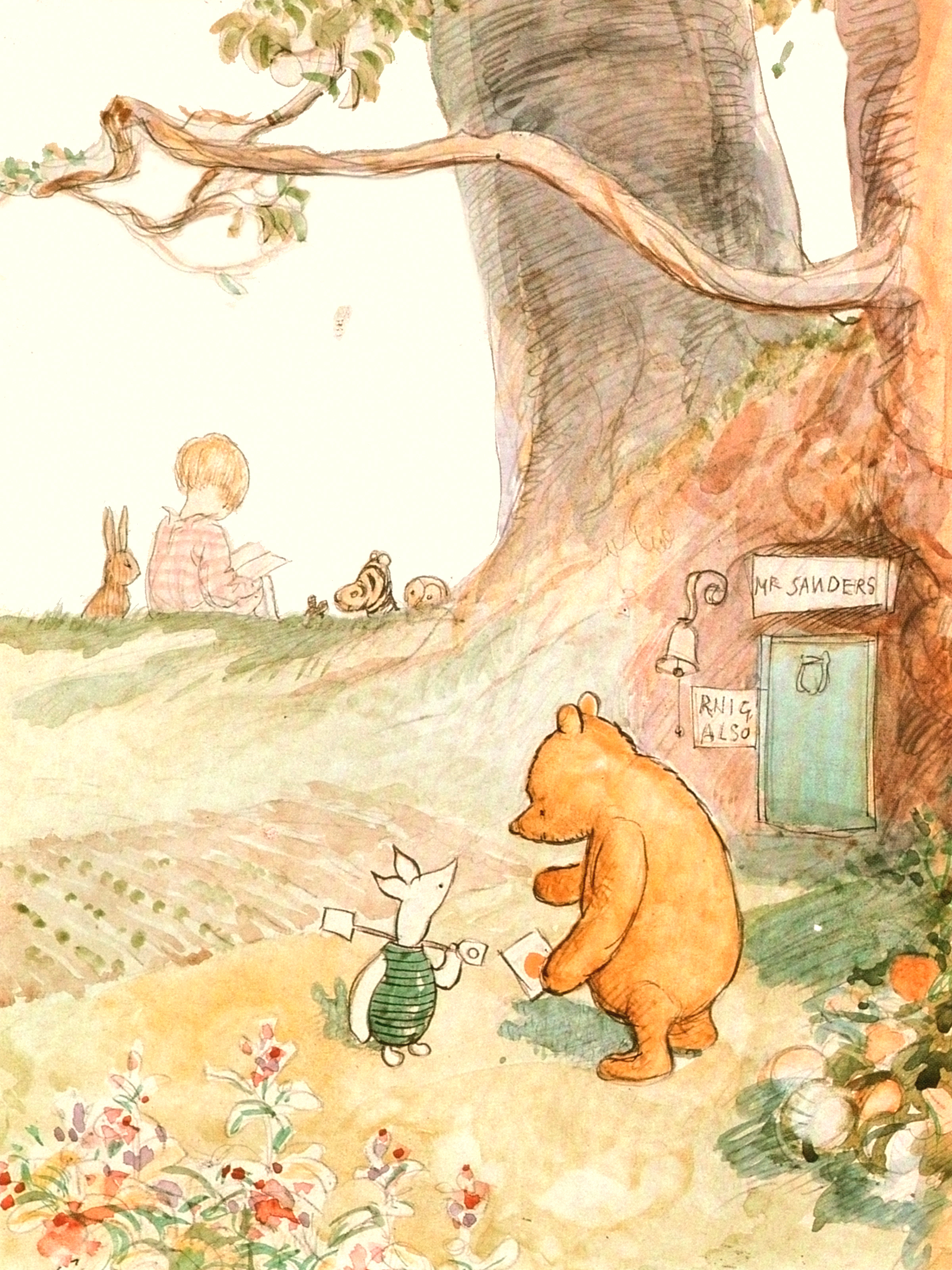 an analysis of the good and bad qualities of people in winne the pooh series by aa milne Many of the people involved with winnie the pooh would become winnie the pooh - christopher robin milne named his the winnie the pooh series helps to.