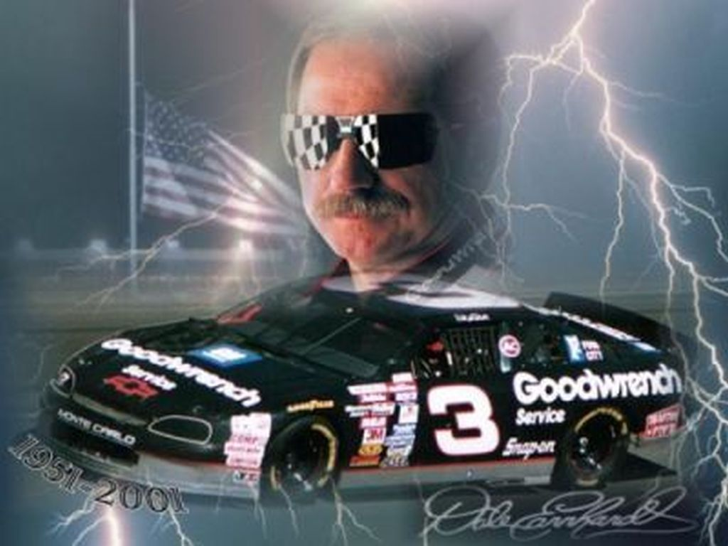 Dale Earnhardt Intimidator: [70+] Dale Earnhardt Sr Wallpaper On WallpaperSafari