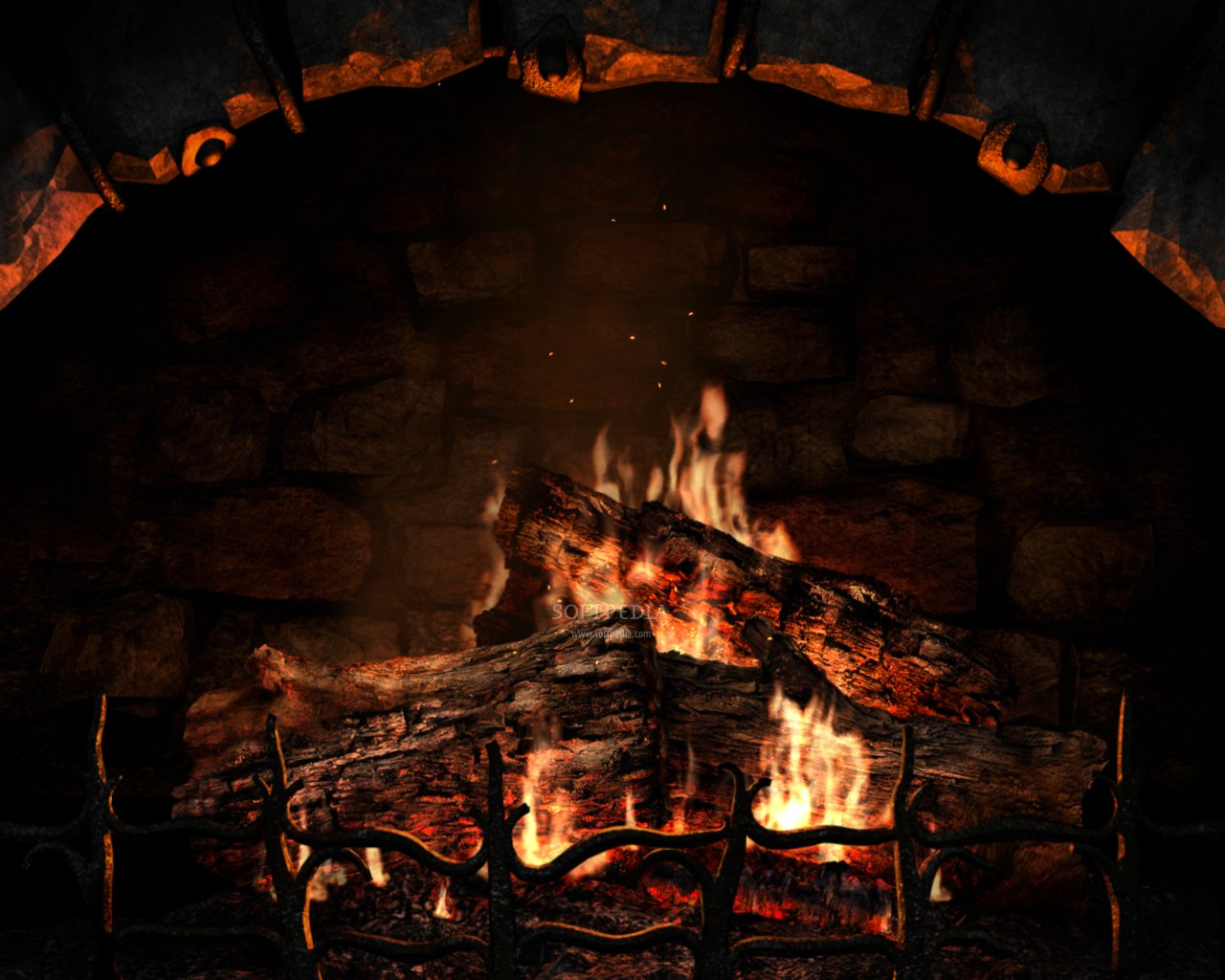 Download 44 Fireplace 100 Quality HD Wallpapers of 1280x1024