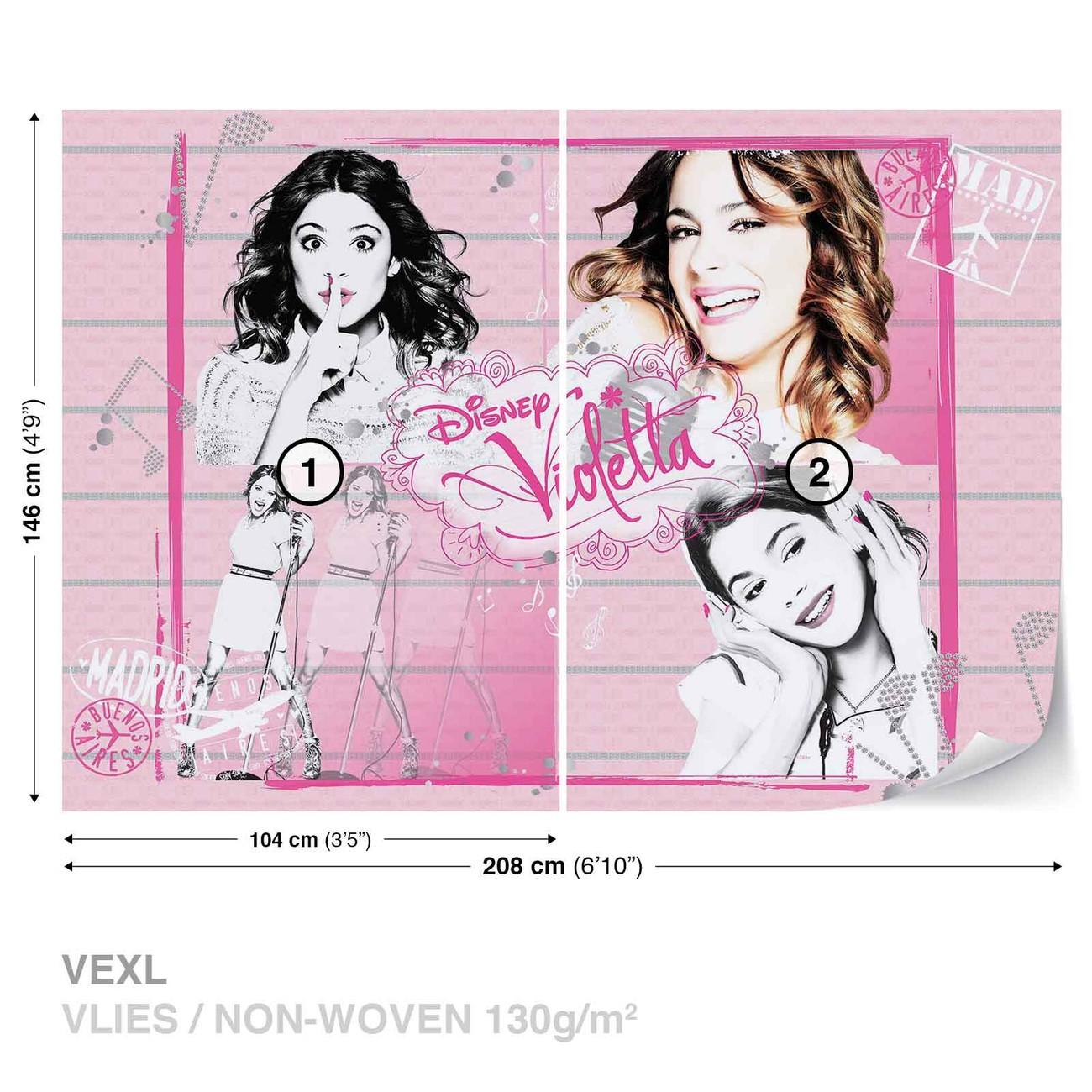 Disney Violetta Wall Paper Mural Buy at Abposterscom 1300x1300