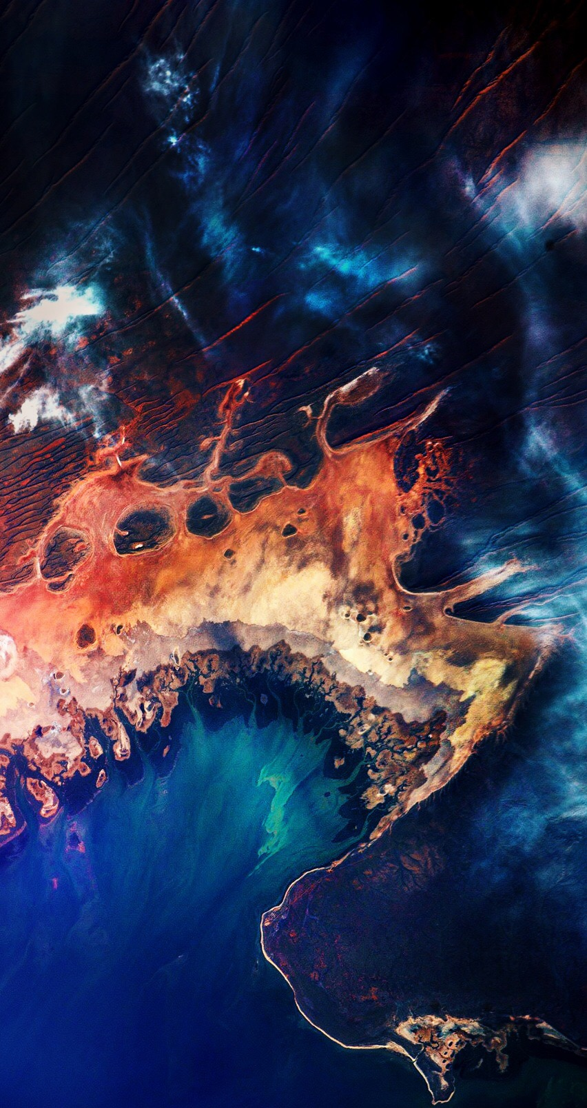 Wallpapers of the week satellite imagery 852x1608