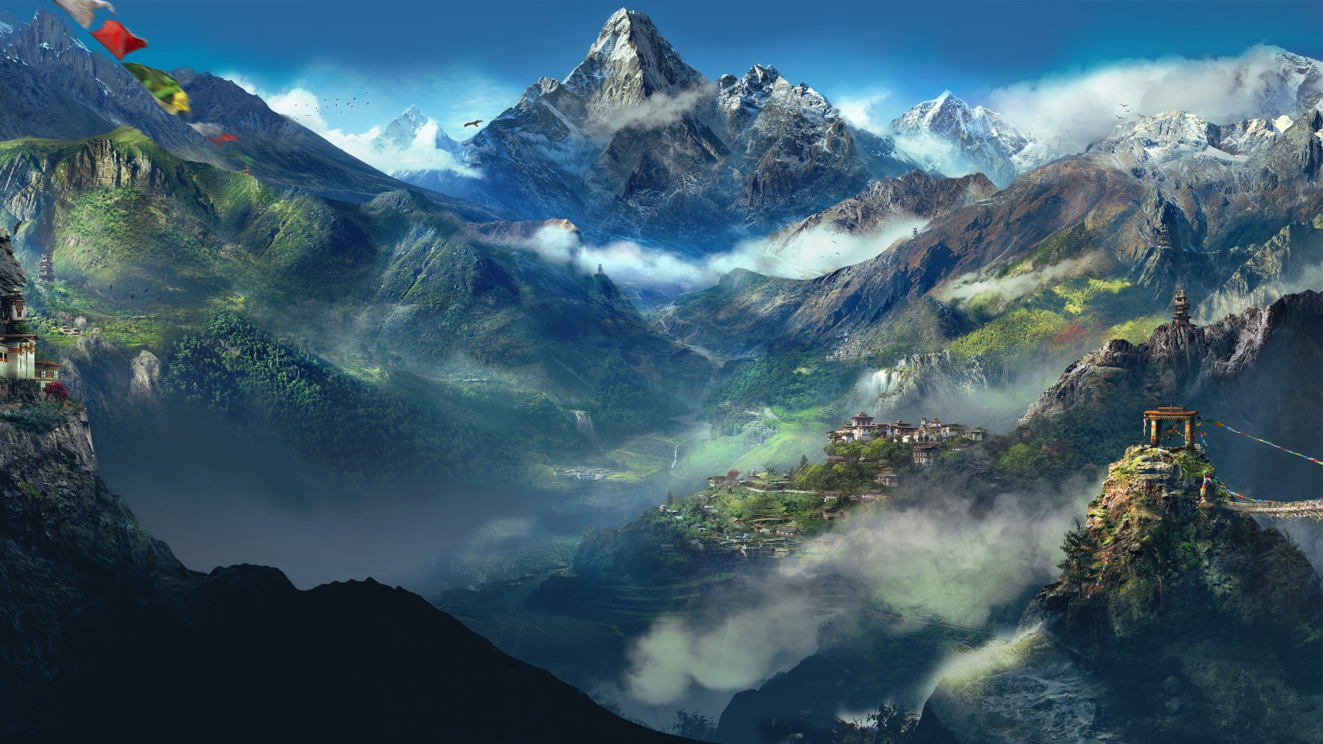 HD Himalaya Wallpaper 1920x1080