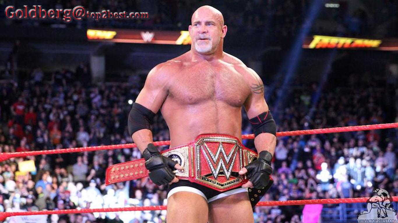 Goldberg is foolish to pick a fight with me bill goldberg wwe.
