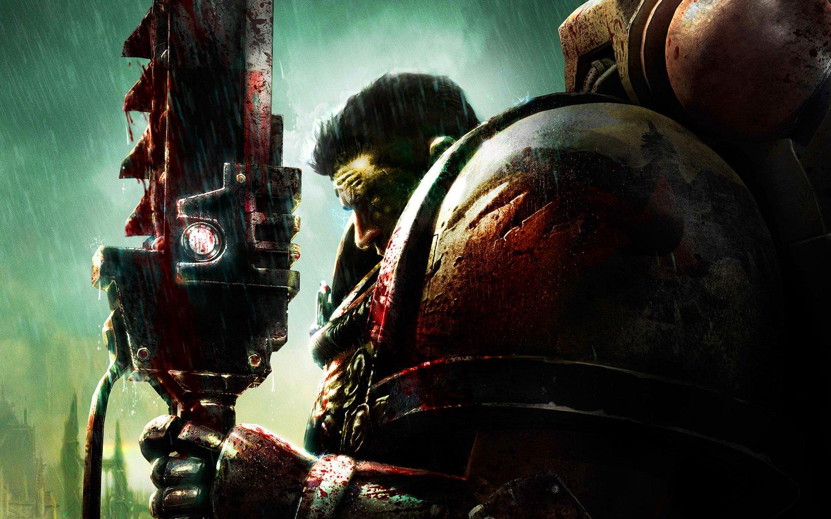 blood Dawn Of War Warhammer 40K Blood Angel Warhammer 40 000 wallpaper 1680x1050