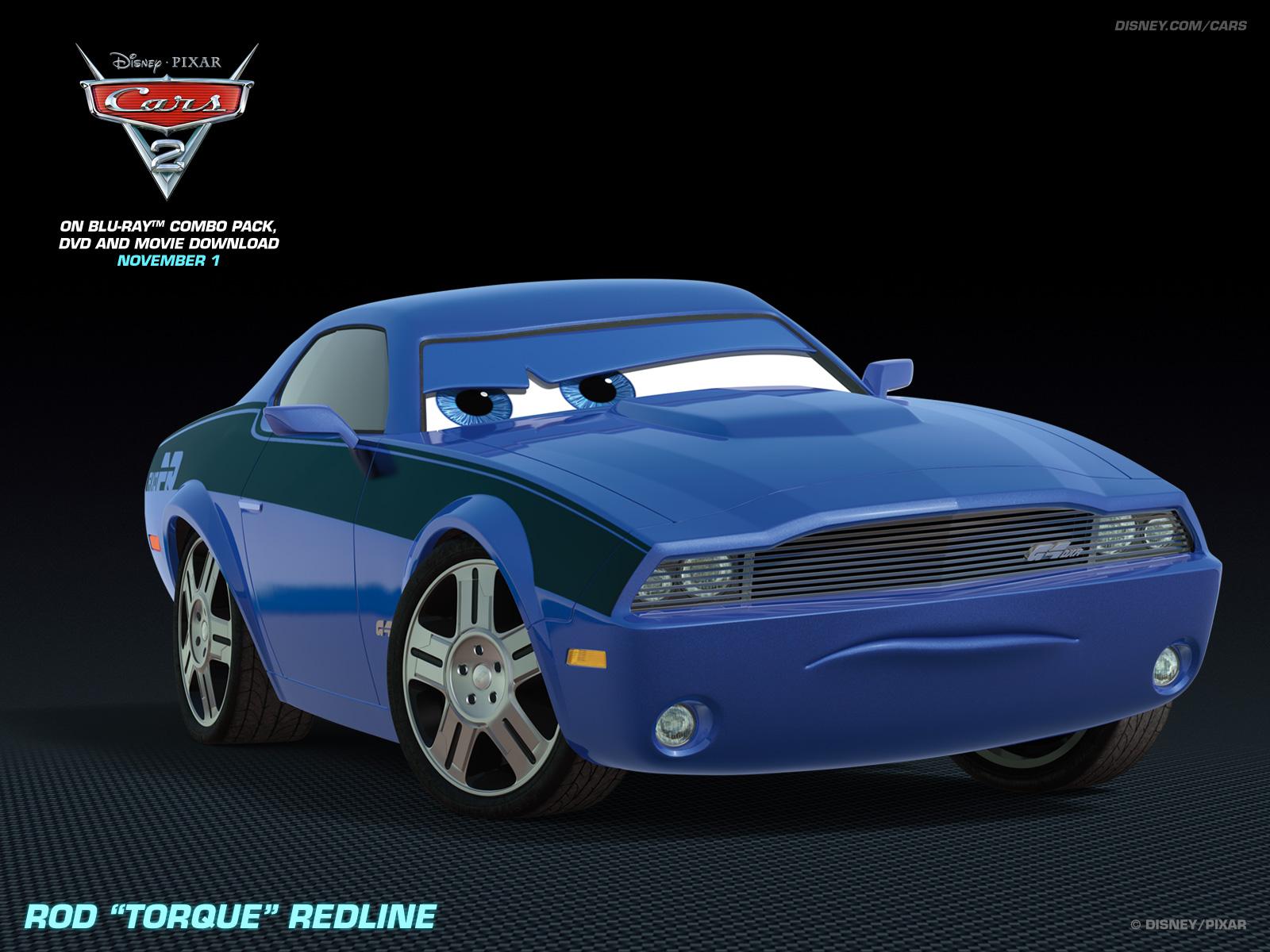 Rod Torque Redline   Disney Pixar Cars 2 Wallpaper 28399996 1600x1200