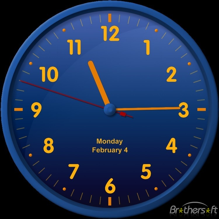 Clock Wallpaper Free Windows 7