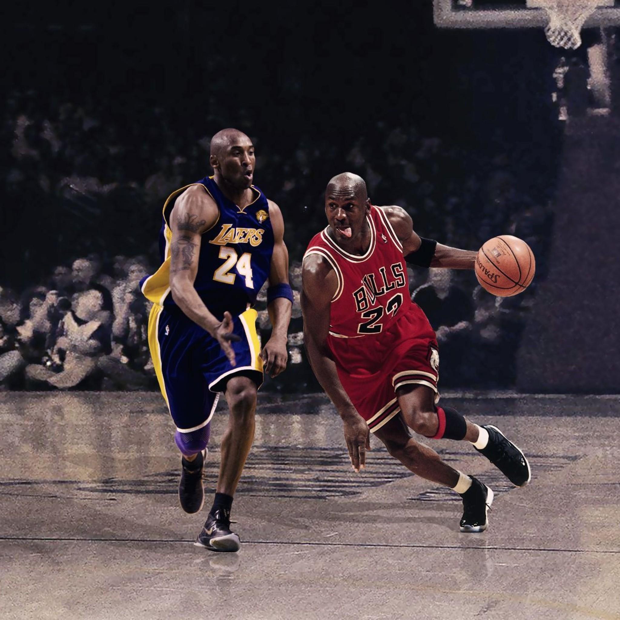 Michael Jordan And Kobe Wallpaper
