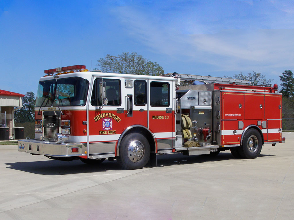 Free Download Fire Truck Wallpaper 1024x768 For Your