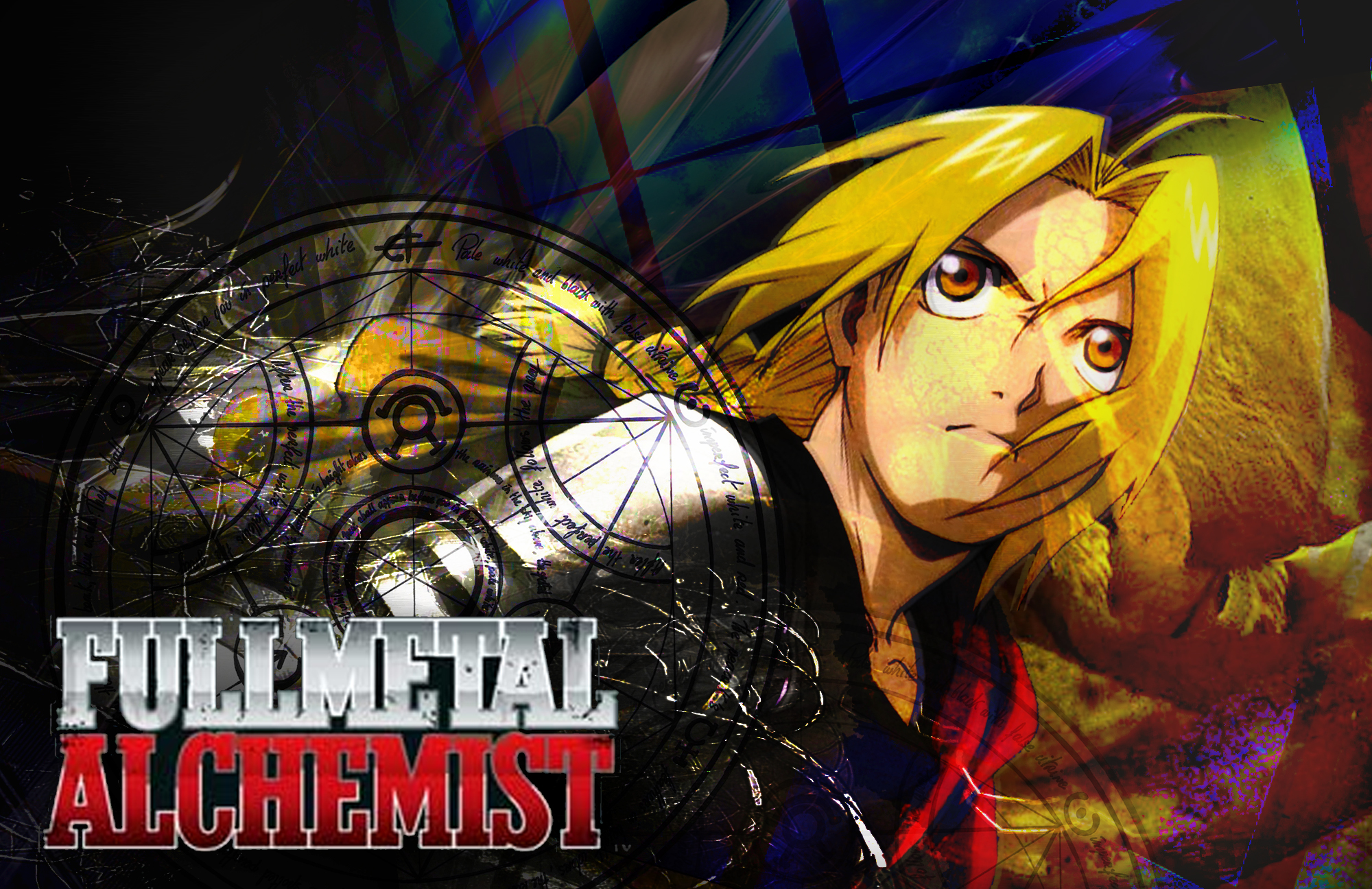 Pics Photos   Fullmetal Alchemist Wallpapers 2000x1296
