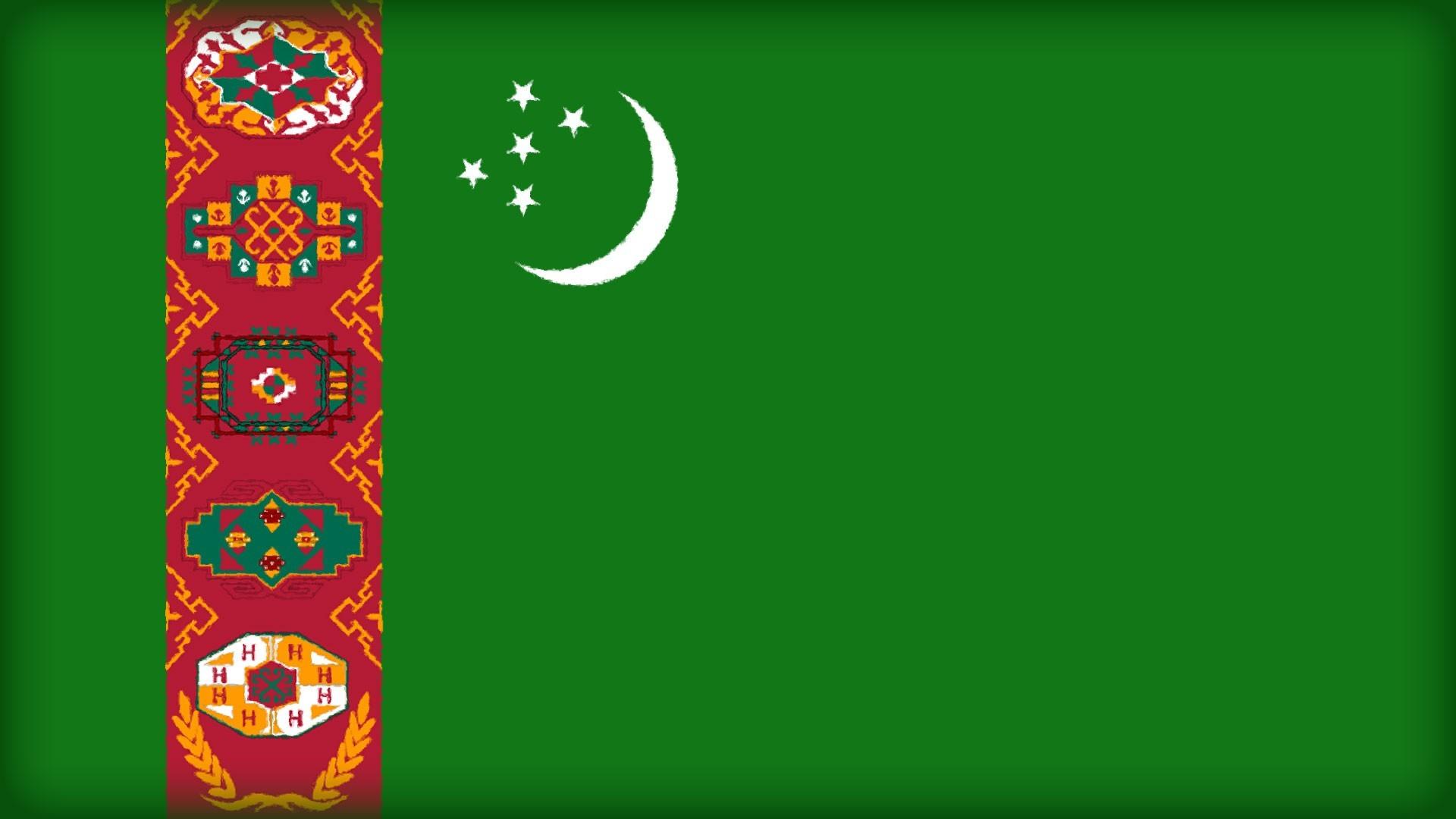 Turkmenistan Flag   Wallpaper High Definition High Quality 1920x1080