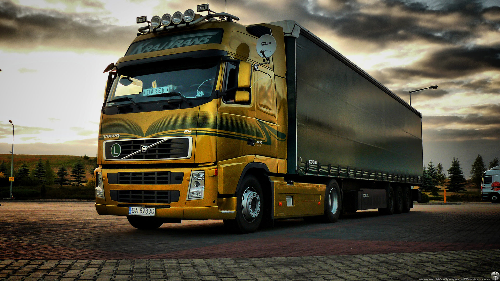 Volvo Truck Mania Trucks Fh 497678 With Resolutions 19201080 Pixel 1920x1080