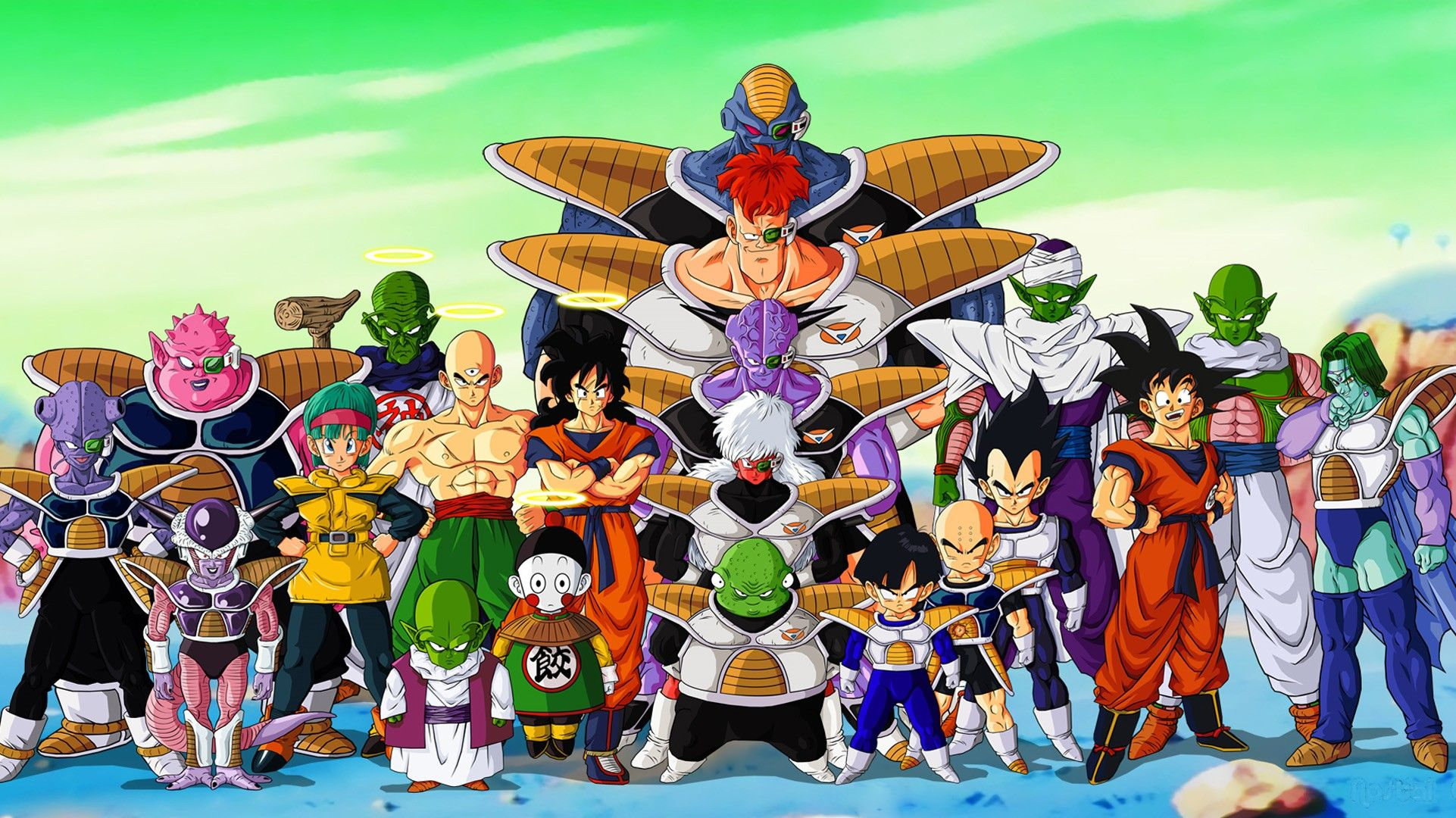 Bulma Piccolo Ginyu Force Vegeta Recoome Jeice Namek 1922x1080