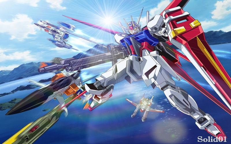gundam seed mobile suit Gundam Seed Anime Gundam Seed HD Wallpaper 800x500