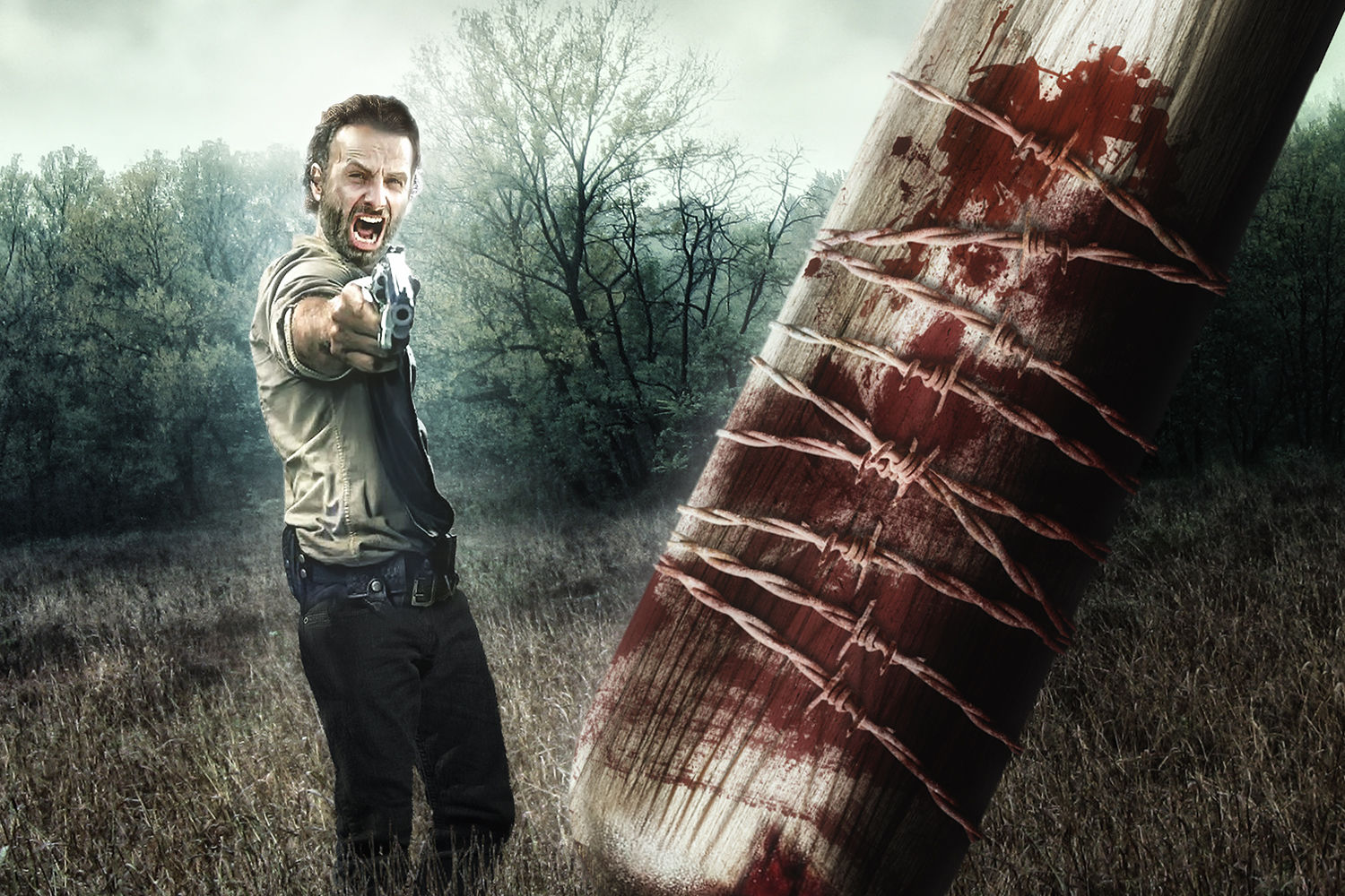 49 Walking Dead Wallpaper Season 6 On Wallpapersafari