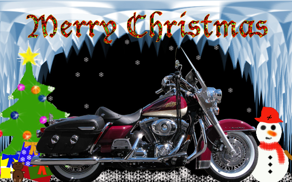 Christmas Motorcycle Wallpaper - WallpaperSafari