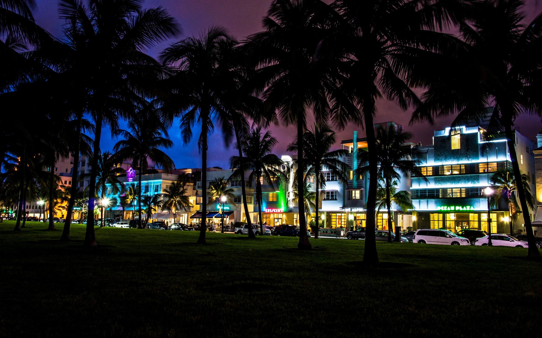 beach hotel house city usa wallpaper desktop car night world 2880x1800