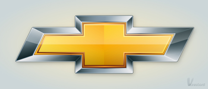 Create the Chevrolet Logo VforVectors 690x296