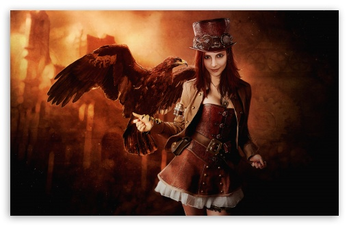 Steampunk wallpaper 510x330