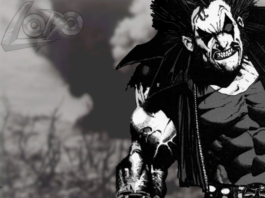 My Wallpapers   Comics Wallpaper Lobo 1024x768