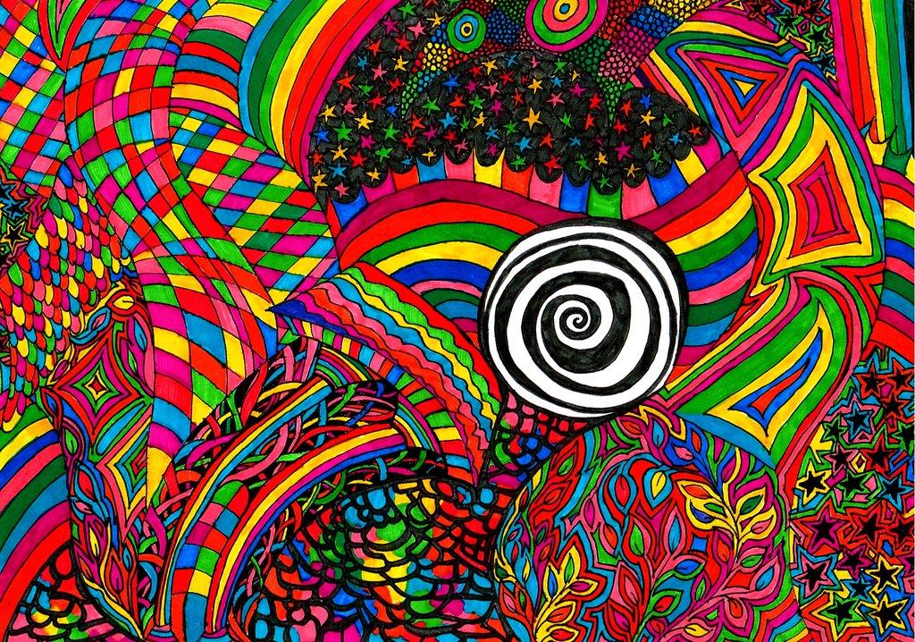 Dark acid trip