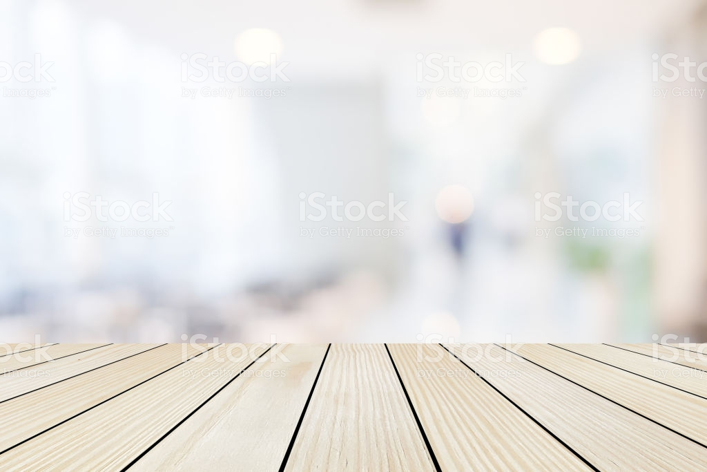 Perspective Wood Tabletop With Blurred Luxury Interior Store Light 1024x683
