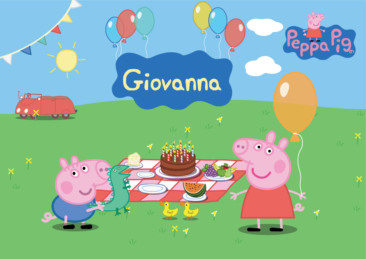 Awesome Peppa Pig Picnic wallpaper | Peppa Pig wallpapers