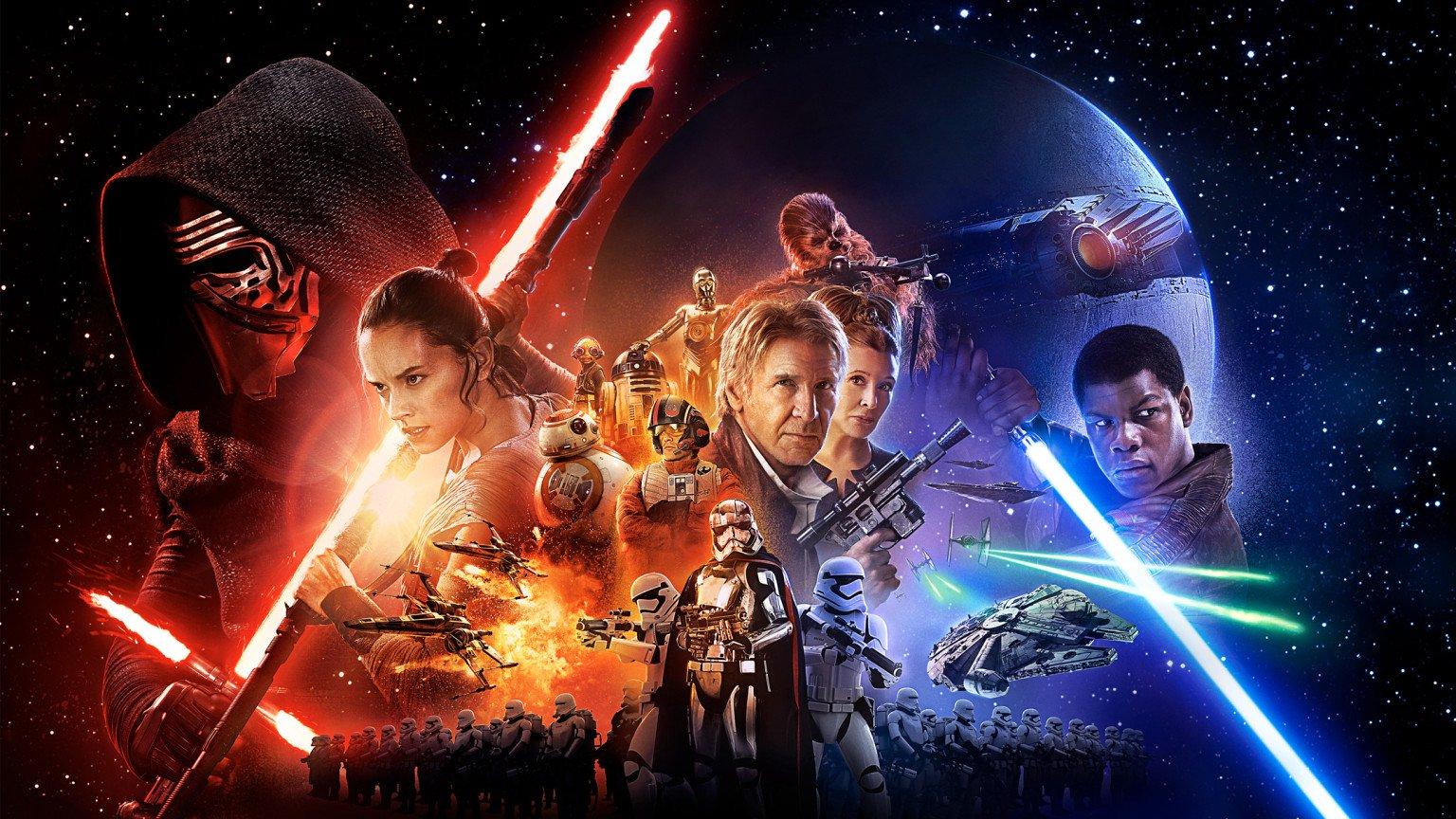 star wars the force awakens desktop background 1536x864